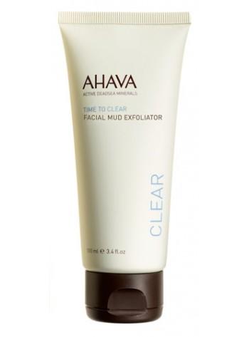 Ahava Facial Mud Exfoliator: kooriv kreem ühtlase tooni andmiseks