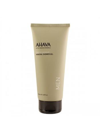 Ahava Mineral Shower Gel Men: Surnumere mineraalidega dušigeel meestele