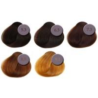 Professionaalne juuksevärv, kuldsed toonid, 5.3-9.3