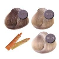 Professionaalne püsivärv: pärliblond, 8.21-10.21 (kollaste alatoonide neutraliseerimiseks)