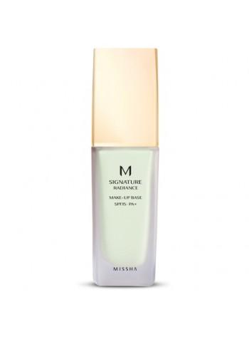 Missha Signature Radiance Makeup Base: roheline meigialuskreem, 35 ml