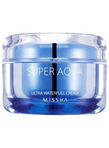 Missha Super Aqua Ultra Waterfull Cream: rasusele või väga kuivale nahale, 50 ml