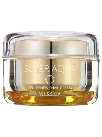 Missha Super Aqua Cell Renew Snail Cream: taastav teokreem