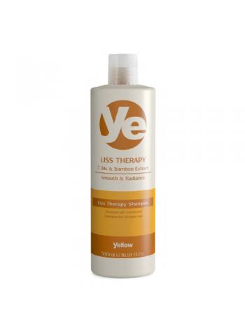 Alfaparf Yellow Liss Therapy: taastav ja sügavalt toitev šampoon, 500 ml