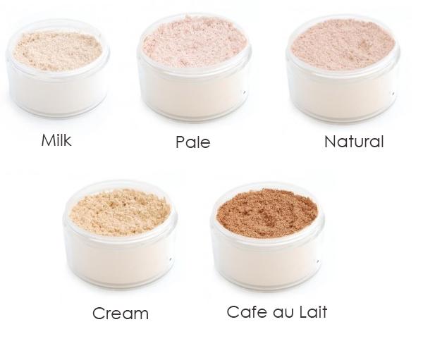 how to make makeup powder at home